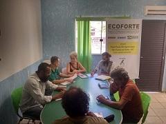 Reunião projeto Rede Pouso Alto Agroecologia com  a Prefeitura de Cavalcante/GO
